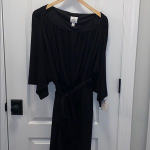 NWT Suzi Chin for Maggy Boutique black dress-14
